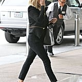Reese Witherspoon arrived at an office building in LA.