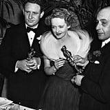 Bette Davis at the 1939 Academy Awards