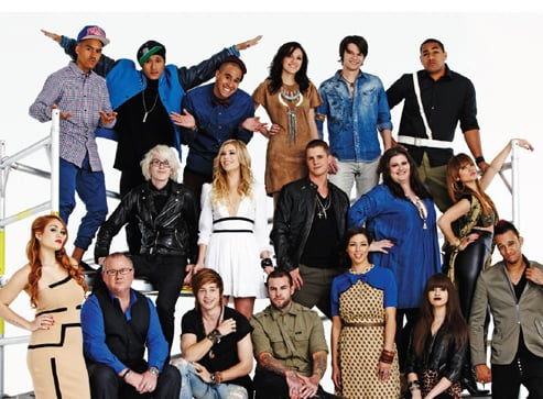 Meet the Top 12 Contestants of The X Factor Australia 2011