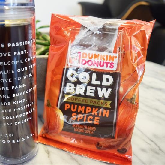 Dunkin' Donuts Pumpkin Spice Cold Brew