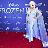 Nina West at the Frozen 2 Premiere in Los Angeles