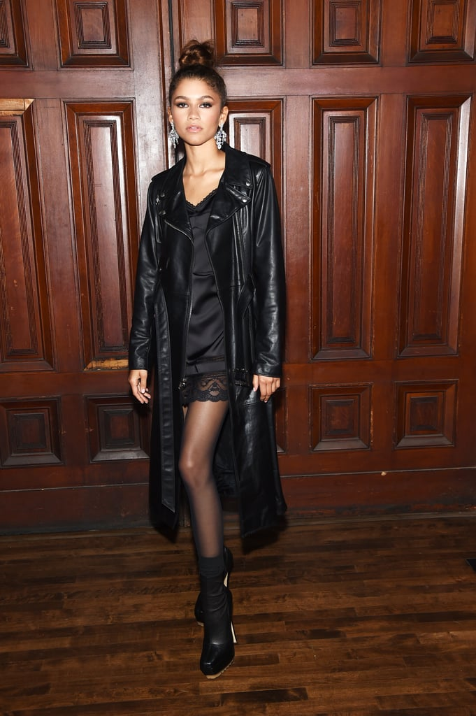 Zendaya at the Marc Jacobs New York Fashion Week Show