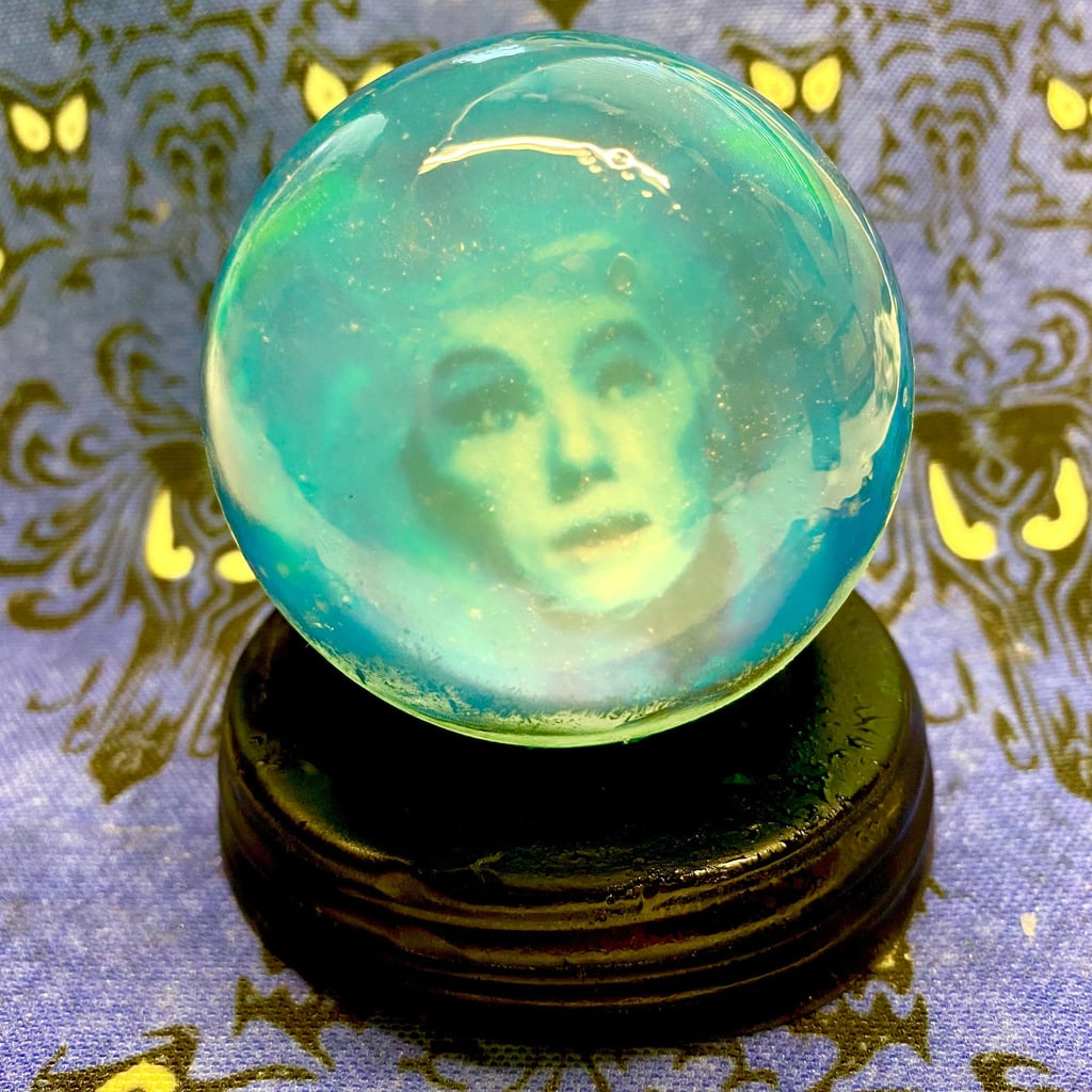 The Haunted Mansion Madame Leota Glow in the Dark Soap Crystal