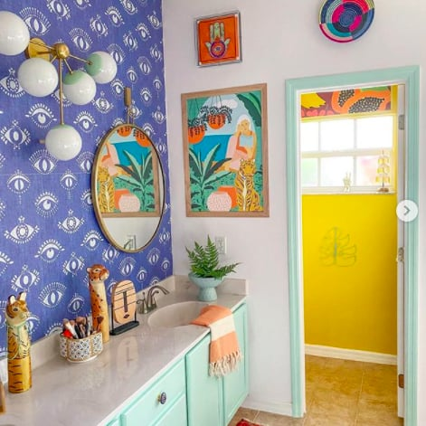 Colorful Bathroom Decor Ideas