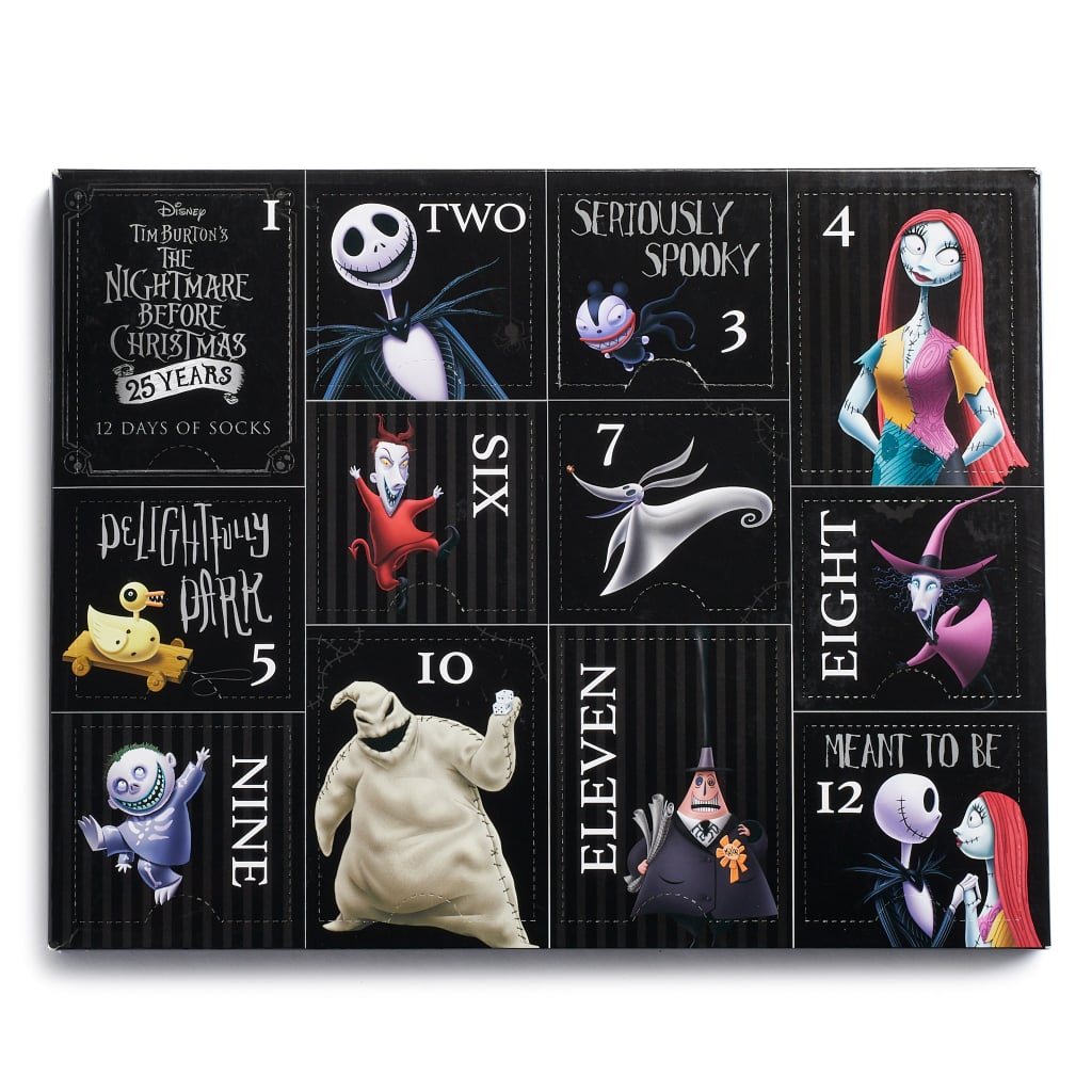 The Nightmare Before Christmas Sock Advent Calendar 2018 | POPSUGAR ...