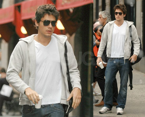 John Mayer: Giant Man or Tiny Coffee Cup? You Decide