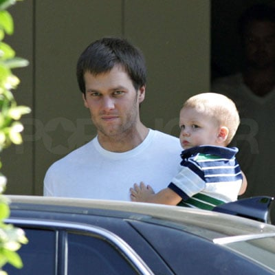 Tom Brady With His Son John Thomas Moynahan