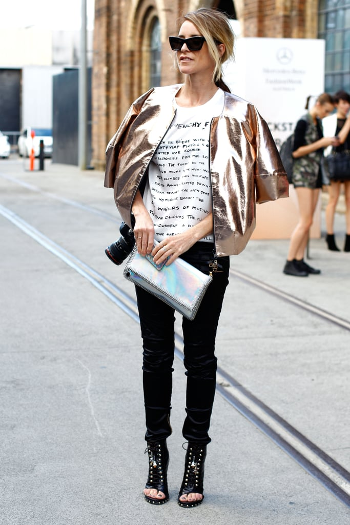 Street style from 2013 mercedes benz fashion week for Mercede benz fashion week