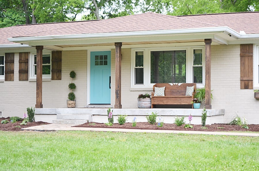 Charmant DIY Home Exterior Makeover