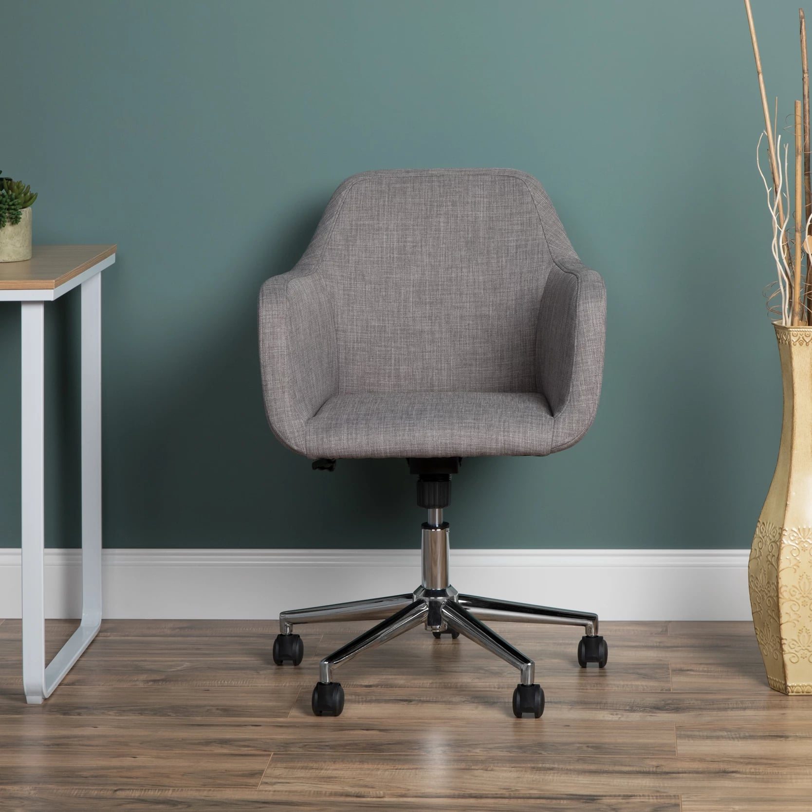 Upholstered Adjustable Home Office Chair With Wheels 30 Cute And Useful Products That Ll Make At Home Learning Easier And More Organized Popsugar Family Photo 21