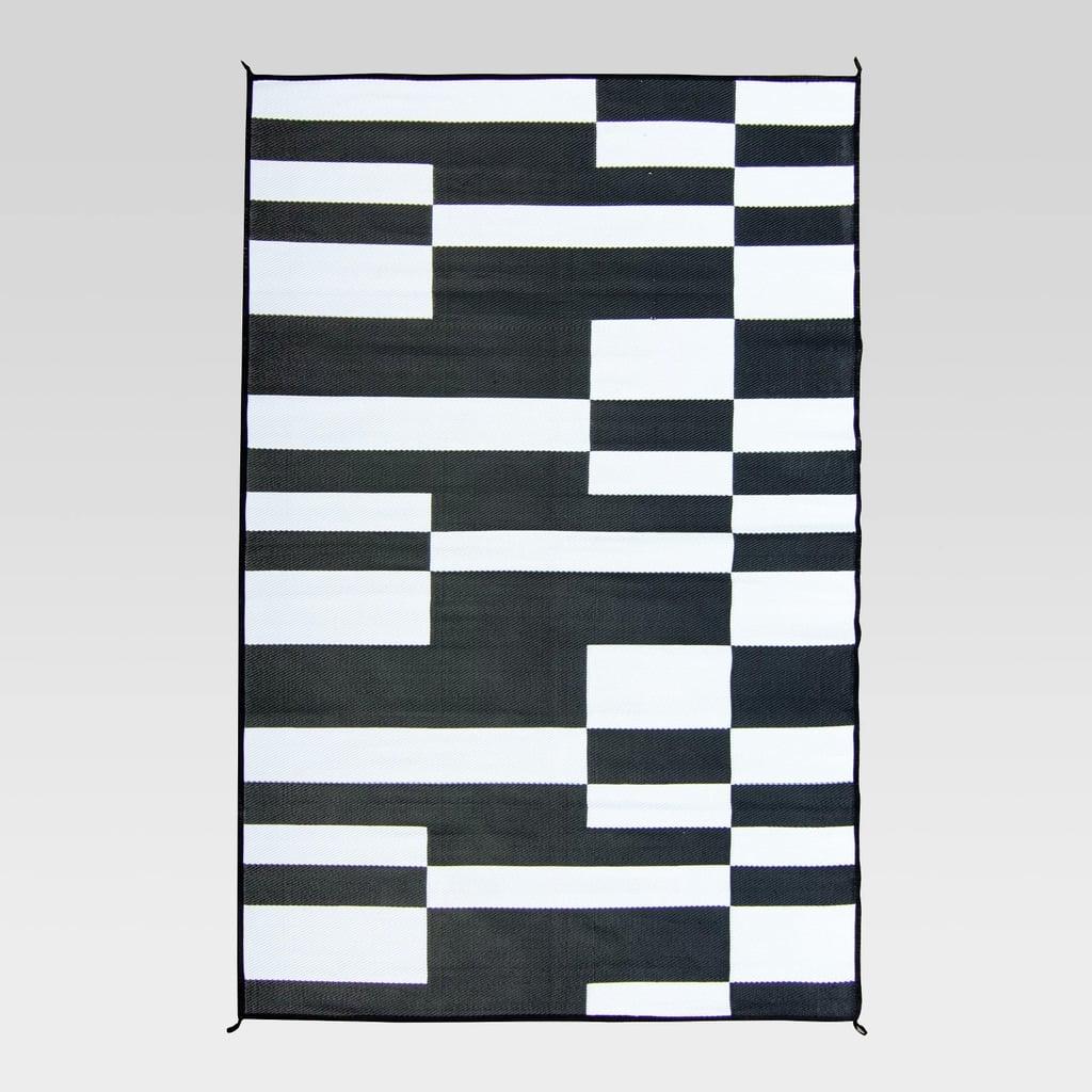Block Stripe Outdoor Rug