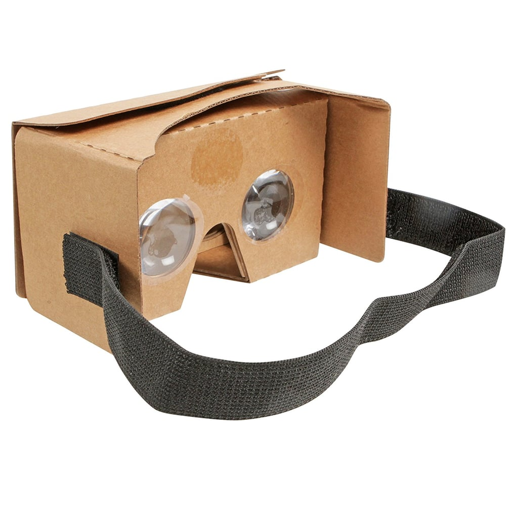 Most VR experiences cost a couple of hundred, these are $10. Worth a try, right? Virtual Reality 3D Google Cardboard Glasses VR Viewer for Android iPhone Samsung and other Android Model ($9.95)