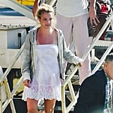 Britney Spears and Jason Trawick Return Home to the VIP Treatment