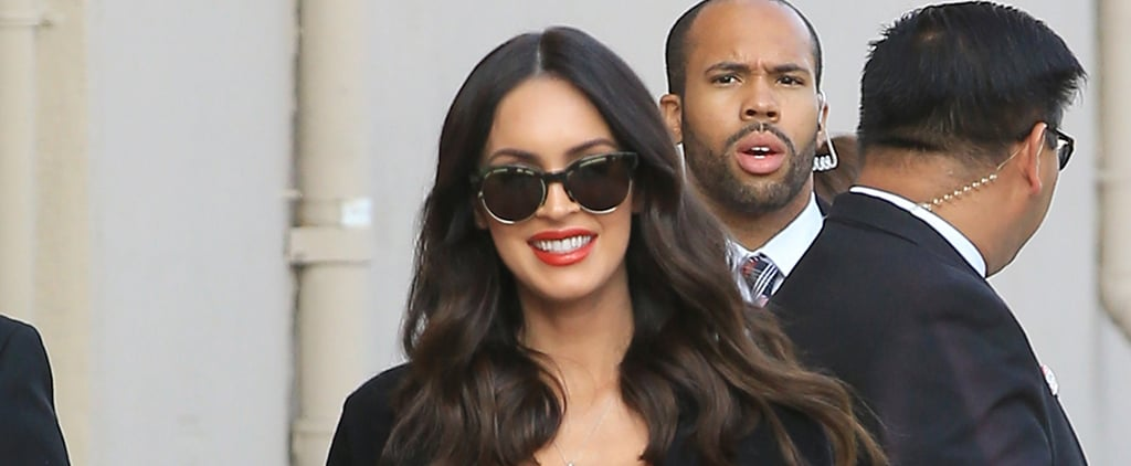 Not Even Dull Skies Can Hide Megan Fox's Gorgeous Pregnancy Glow