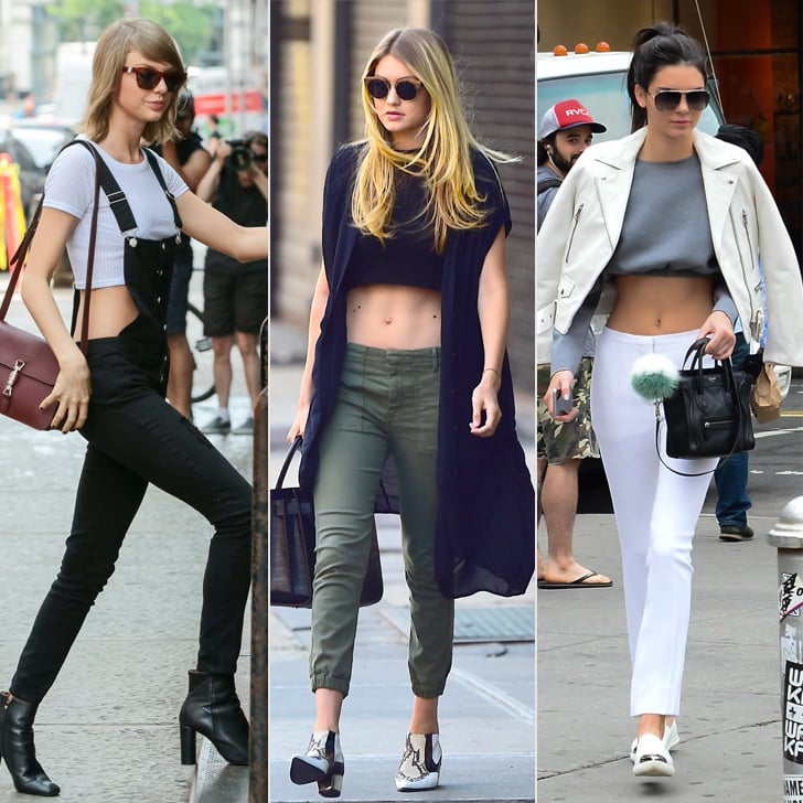 The Sexiest Crop-Top Moments of 2015 —So Far