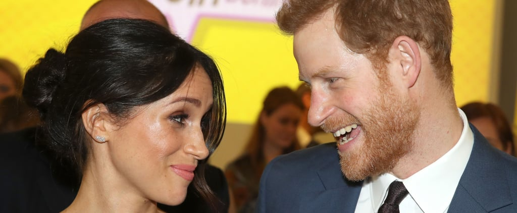 Prince Harry and Meghan Markle at Women's Reception 2018