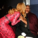 And Gave André Leon Talley a Kiss