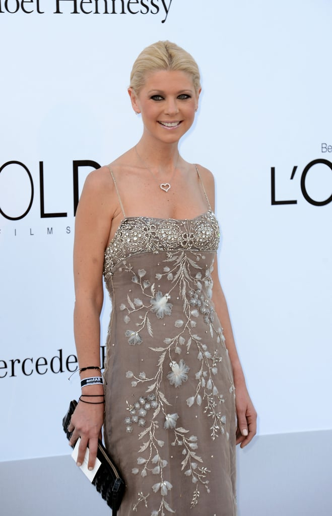 Tara Reid attended the amfAR Cinema Against AIDS gala.