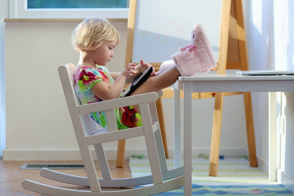 There isn't one certain age your child can start using screens.