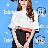 Madelaine Petsch in Neon Beauty Trend