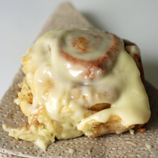 Cinnamon Rolls With Cream-Cheese Icing