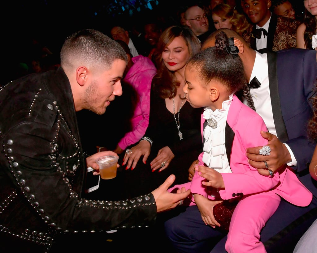 Blue Ivy With Celebrities at the 2017 Grammys
