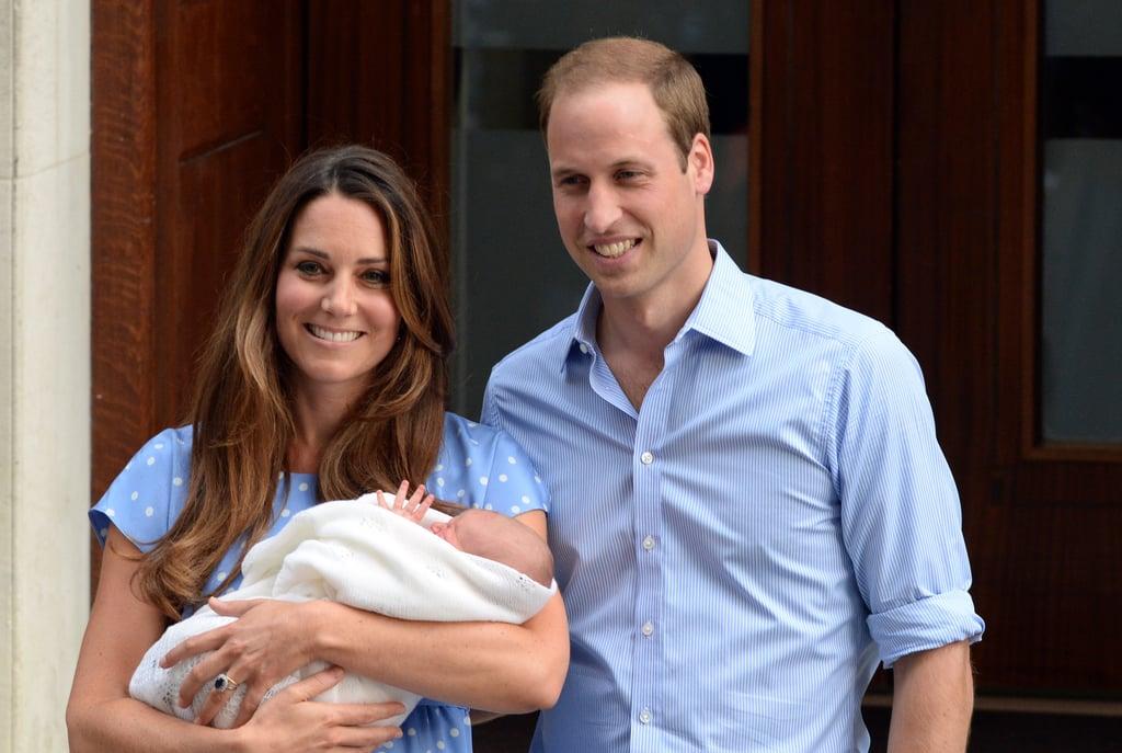 Kate Middleton's New Mom Waves, 2013
