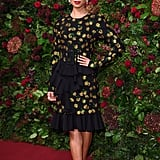 Gugu Mbatha-Raw at the 65th Evening Standard Theatre Awards