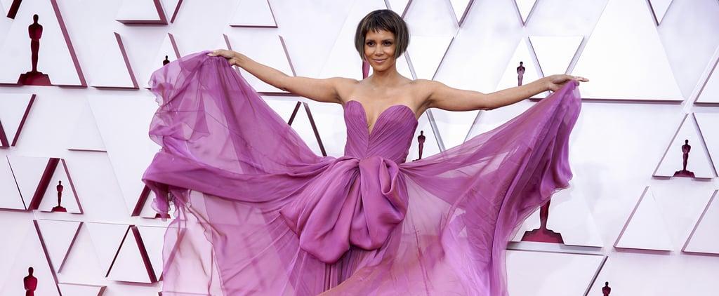 Halle Berry's Short Bob Haircut at the Oscars 2021