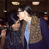 We're officially jealous. Lucky Mindy Kaling got one-on-one time with Jenna Lyons. Source: Instagram user mindykaling
