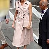 Meghan Markle Pink Dress Style