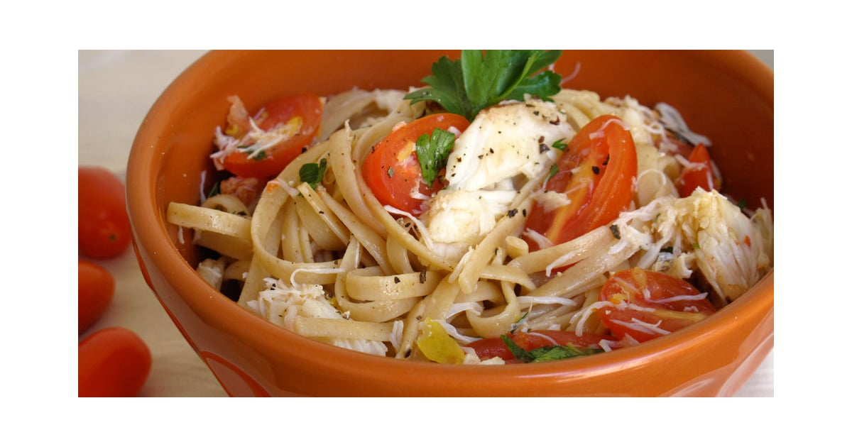 Linguine With Crab | POPSUGAR Food