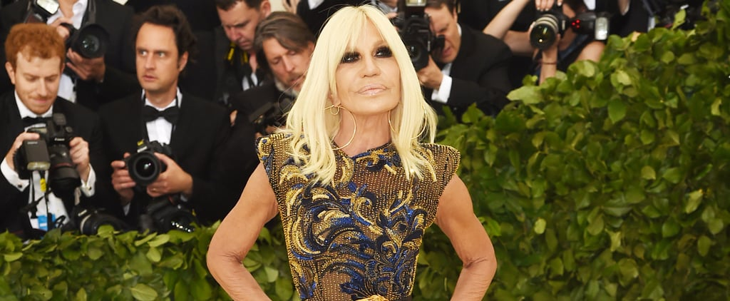 Donatella Versace Met Gala Dress 2018