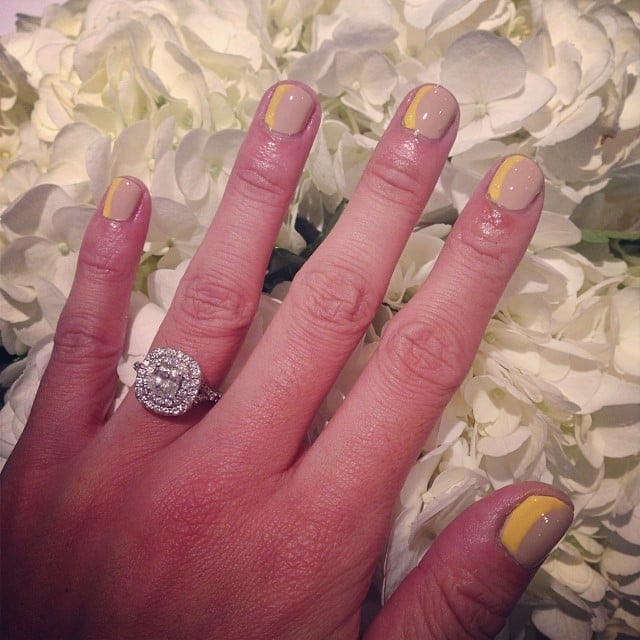 11. Take Advantage of Filters If you've tried all of these tricks and still don't love your ring selfie, don't be afraid to add a filter. Instagram's native filters can increase or decrease the contrast to really make your diamond sparkle.