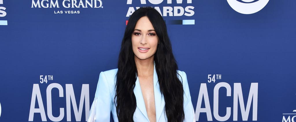 Kacey Musgraves Tie-Dye Suit at the ACM Awards 2019