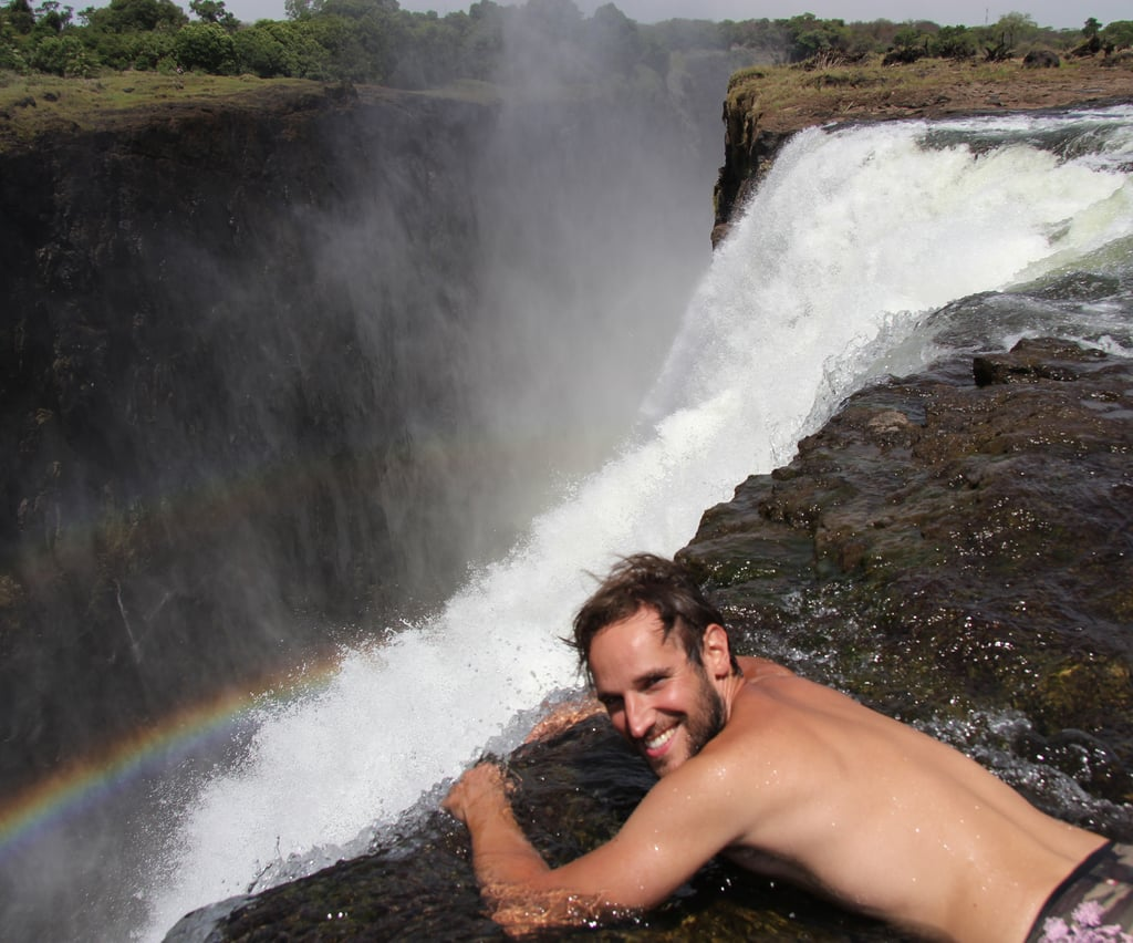 Swim In Devil S Pool At Victoria Falls In Africa Things