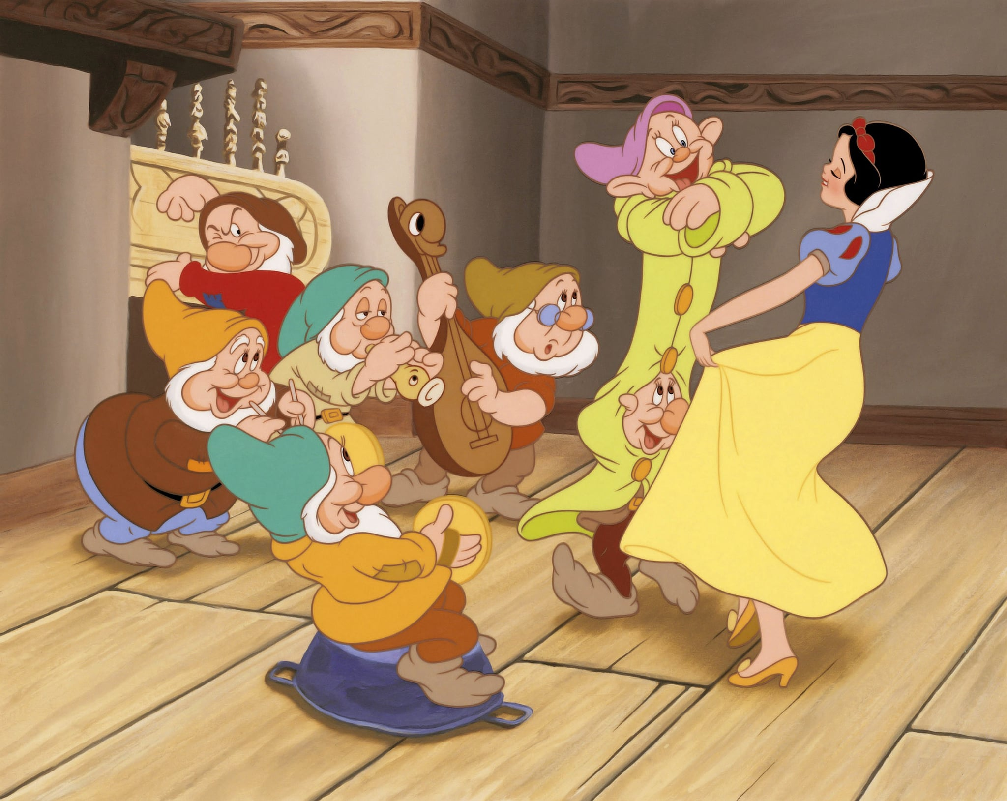 Snow White And The Seven Dwarfs 1937 The Ultimate List Of Animated Disney Movies You Need To Watch With Your Kids Popsugar Family Photo 8