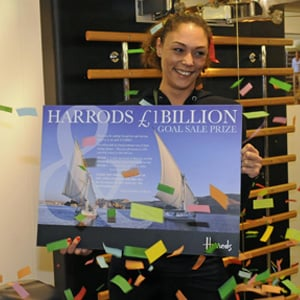 Harrods Reaches One Billion in Sales Ahead of April Target