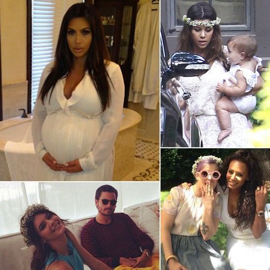 Pictures of Kim Kardashian's Baby Shower