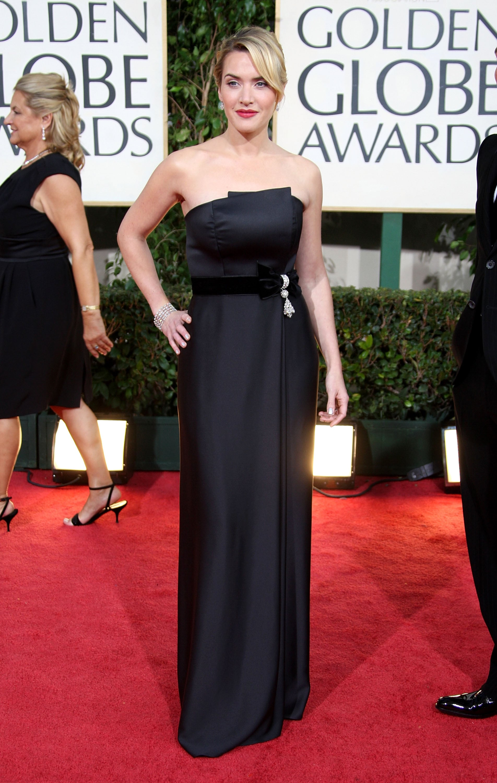 Kate Winslet in YSL in 2009.