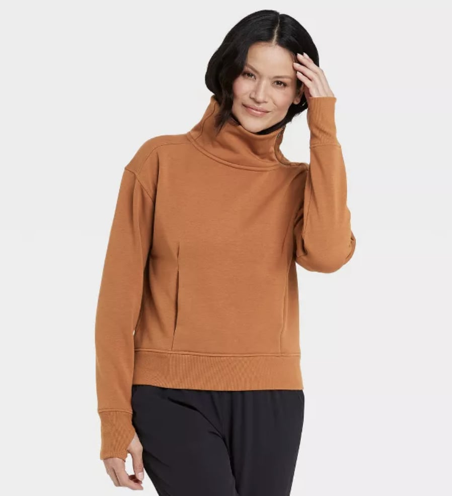 Asymmetrical Zip Sweatshirt