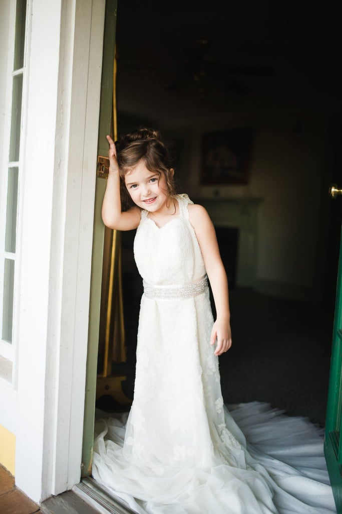 1b662f20691 Toddler Wears Late Mom s Wedding Dress