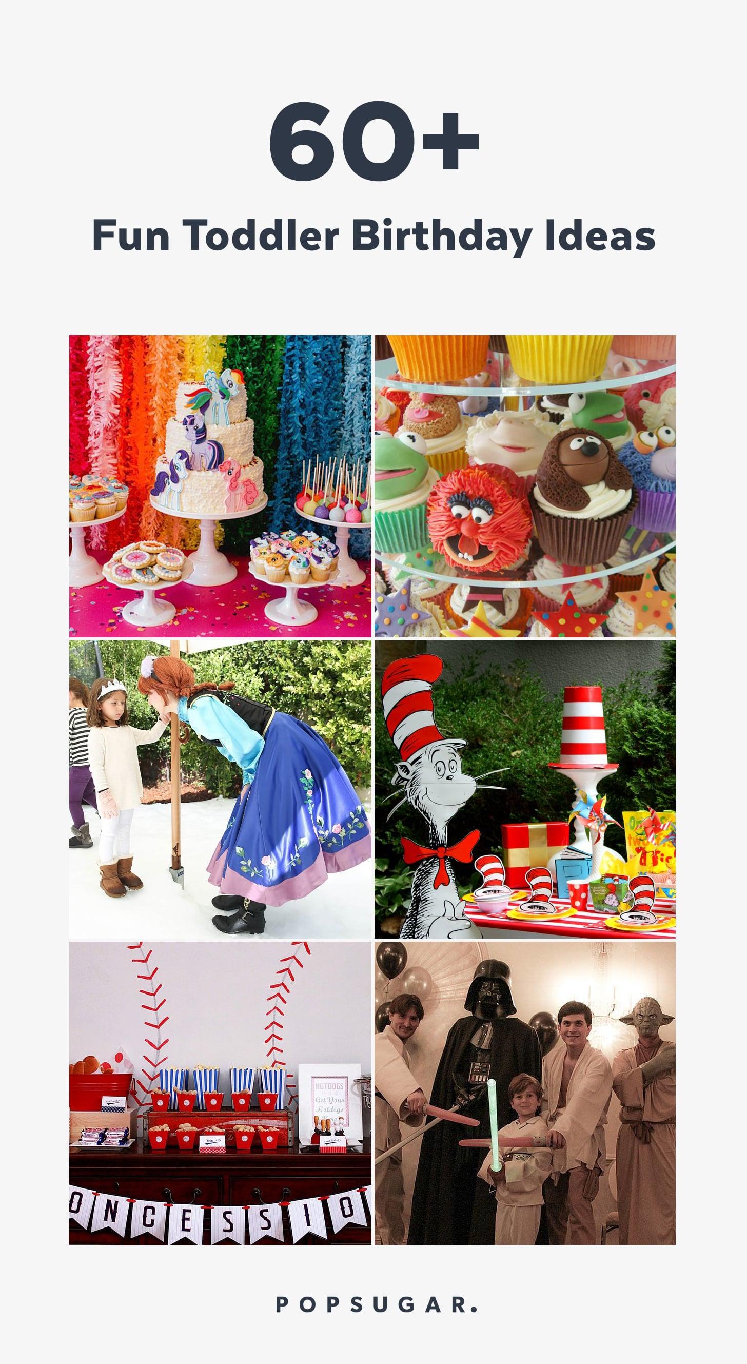 Toddler Birthday Party Ideas Popsugar Family
