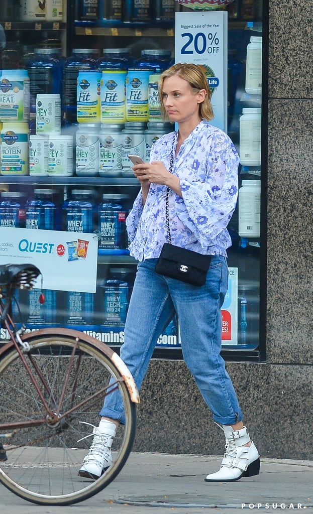 Diane Kruger Pregnant in NYC Pictures August 2018