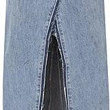Re/Done Seamed Midi Skirt