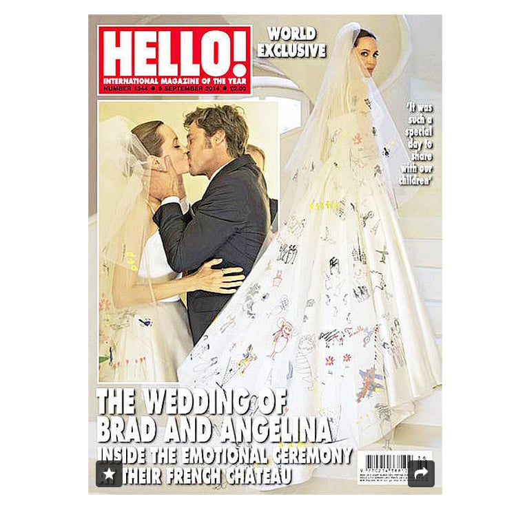The Inspiration: Angelina Jolie's Wedding Veil