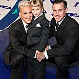 Pink, Willow Hart, and Carey Hart