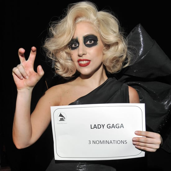 2011 Grammy Awards Nominations Concert Pictures of Lady Gaga, Usher, Katy Perry, Kanye and More