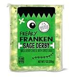 Aldi's Freaky Franken Sage Derby Cheese