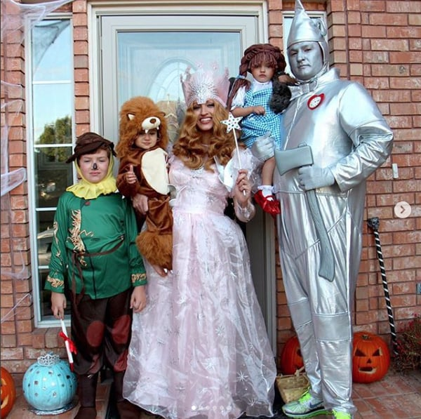 The Wizard Of Oz Family Halloween Costumes 2018
